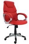 """""""Scaun birou ergonomic rosu"""""""